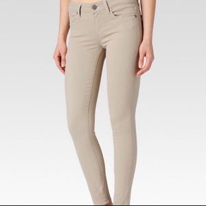 Anthropologie Paige Verdugo Ultra Skinny Pants 26